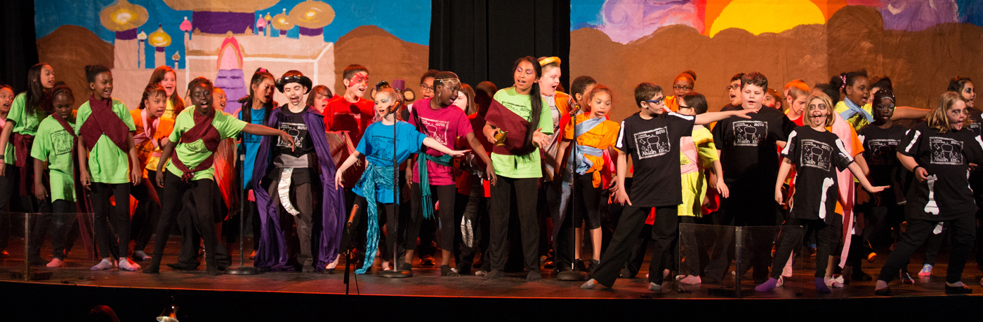 Cattell Elementary School Performing with Turnaround Arts