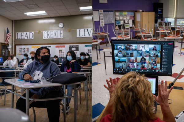 How to Select Virtual or In-Person Learning at DMPS